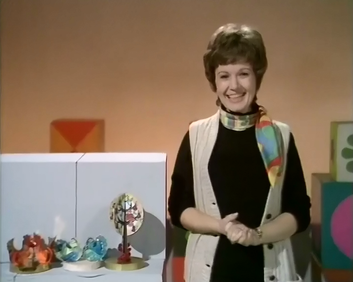 Play School (BBC2, 24th December 1970).