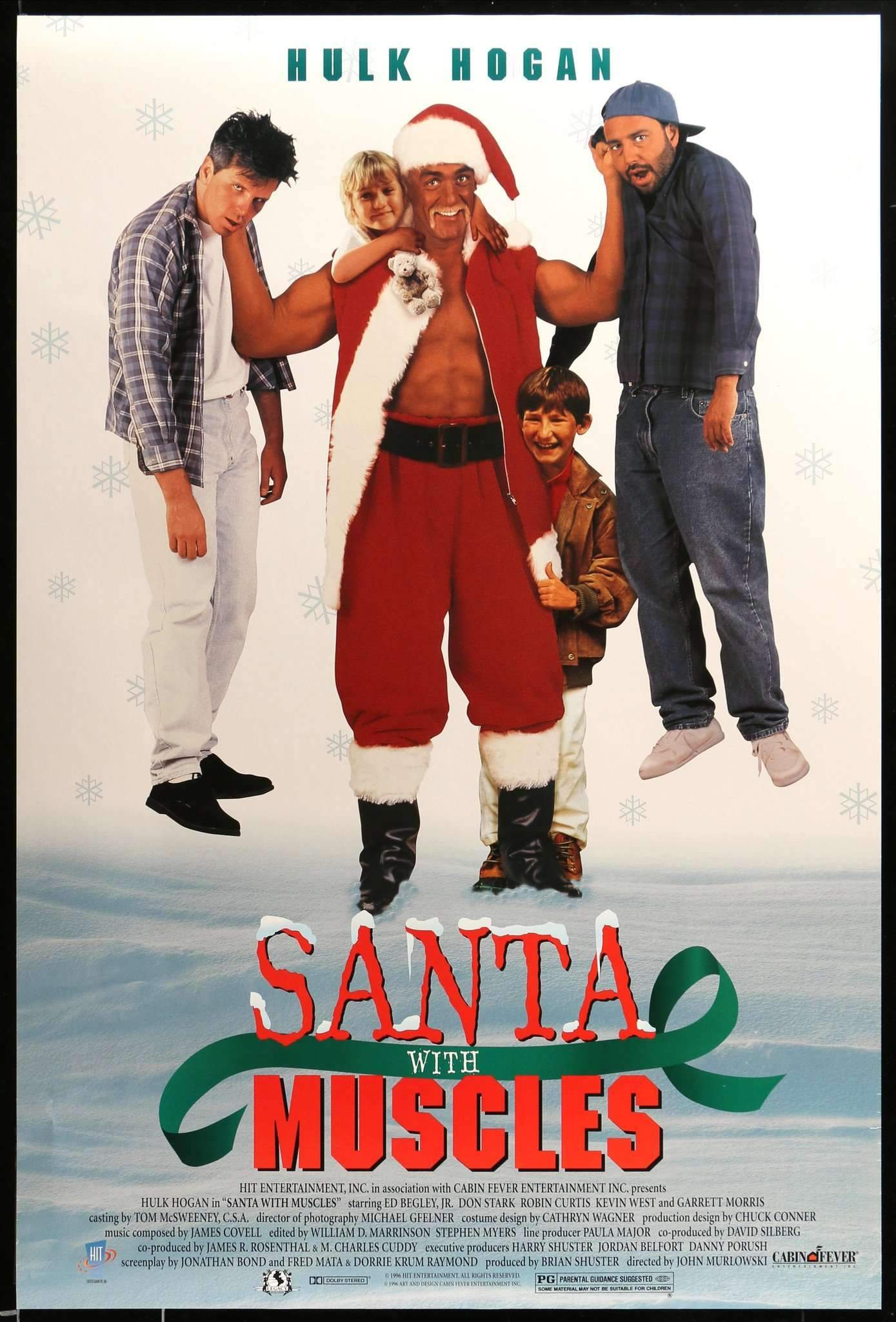 Santa With Muscles (Cabin Fever Entertainment, 1996).