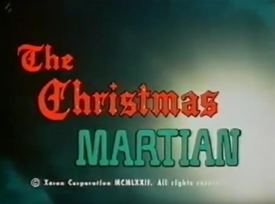 The Christmas Martian (Faroun Films, 1971).