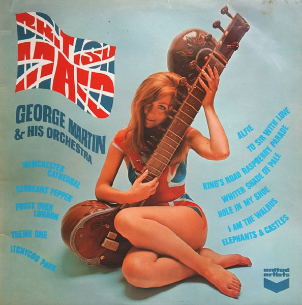 George Martin And His Orchestra - British Maid (United Artists, 1968)