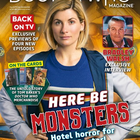 Doctor Who Magazine Issue 547.