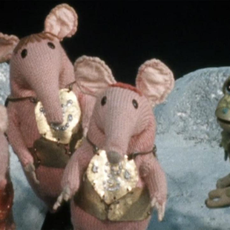 Vote For Froglet, the Clangers Election Special, as discussed by Tim Worthington, Emma Burnell and Steve Fielding in Looks Unfamiliar.