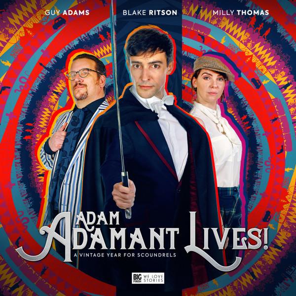 Adam Adamant Lives! - A Vintage Year For Scoundrels (Big Finish, 2020)