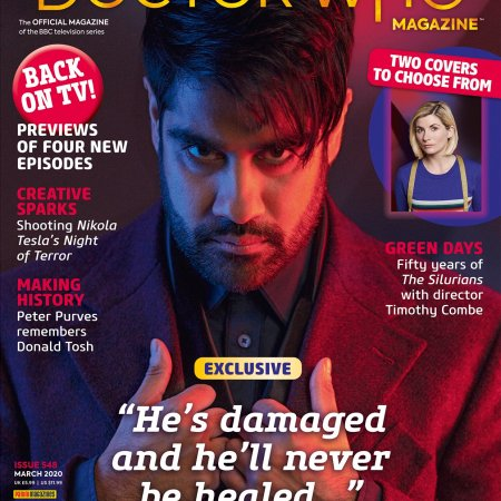 Doctor Who Magazine Issue 548.
