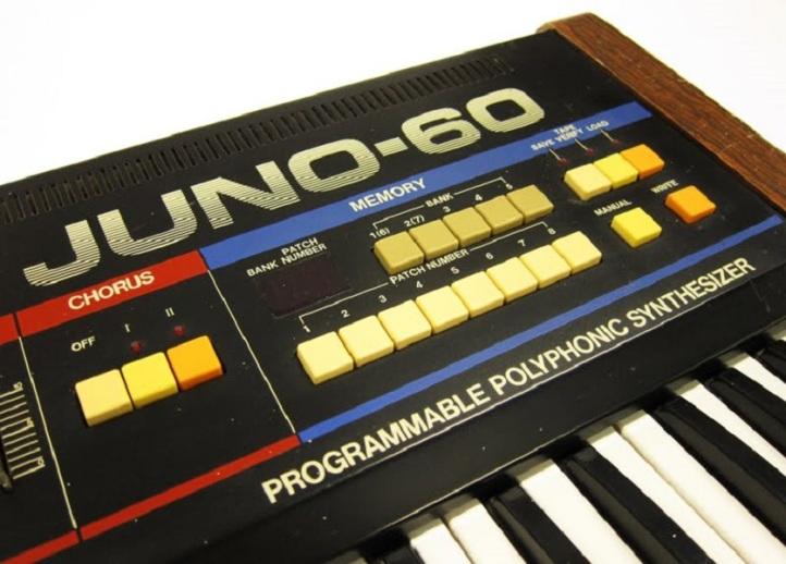 The Roland Juno-60.