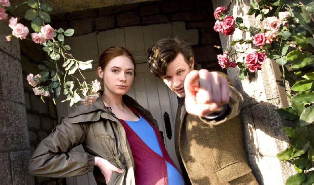 Karen Gillan and Matt Smith in Doctor Who - Amy's Choice (BBC1, 2010).