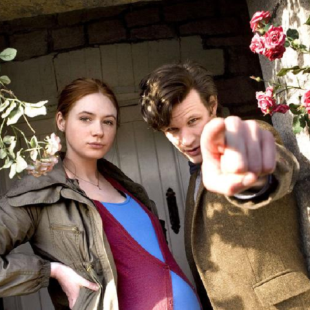 Karen Gillan and Matt Smith in Doctor Who - Amy's Choice (BBC1, 2010).