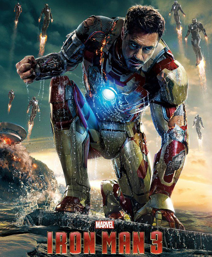 Iron Man 3 (2013) - listen to Phil Catterall chatting to Tim Worthington about Tony Stark's battle against a terrorist who can't do broadcast intrusions properly and about fifteen thousand other things at the same time in It's Good, Except It Sucks.