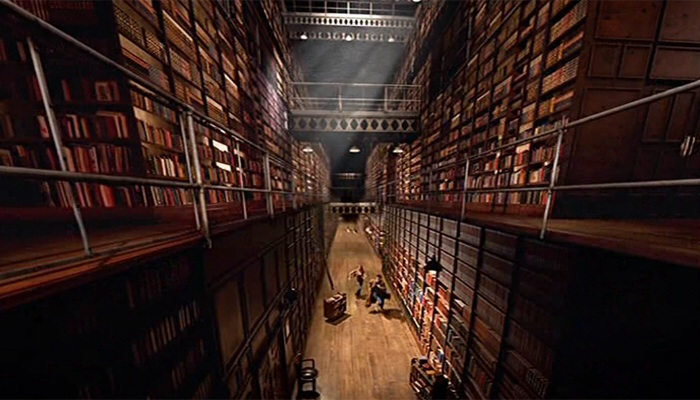 Doctor Who - Silence In The Library/Forest Of The Dead (BBC1, 2008).