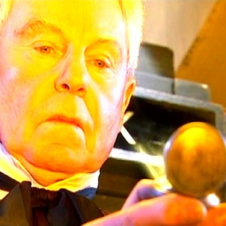 Derek Jacobi as Professor Yana in Doctor Who - Utopia (2007).