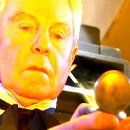 Derek Jacobi as Professor Yana in Doctor Who - Utopia (2007).