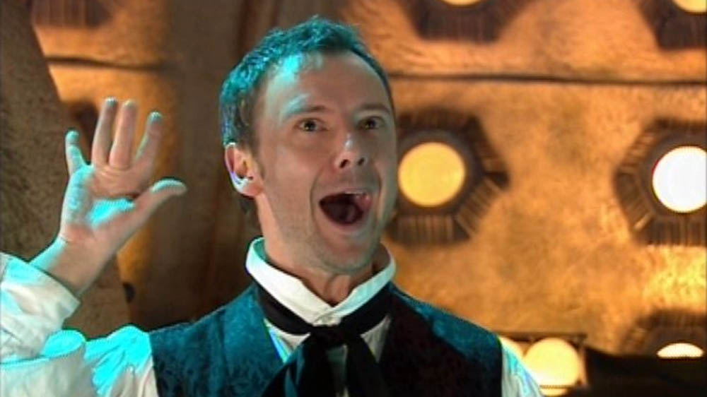 John Simm as The Master in Doctor Who - Utopia (2007).