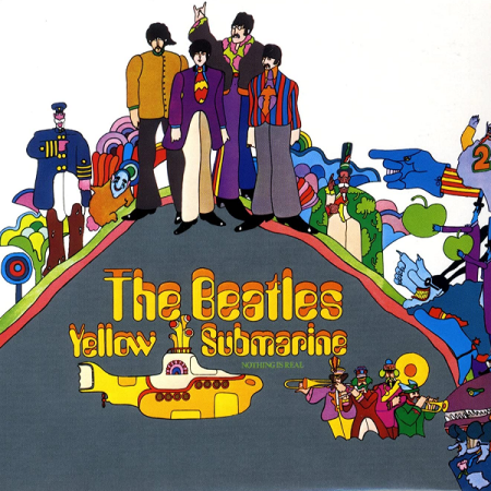 The Beatles - Yellow Submarine (Parlophone, 1969).