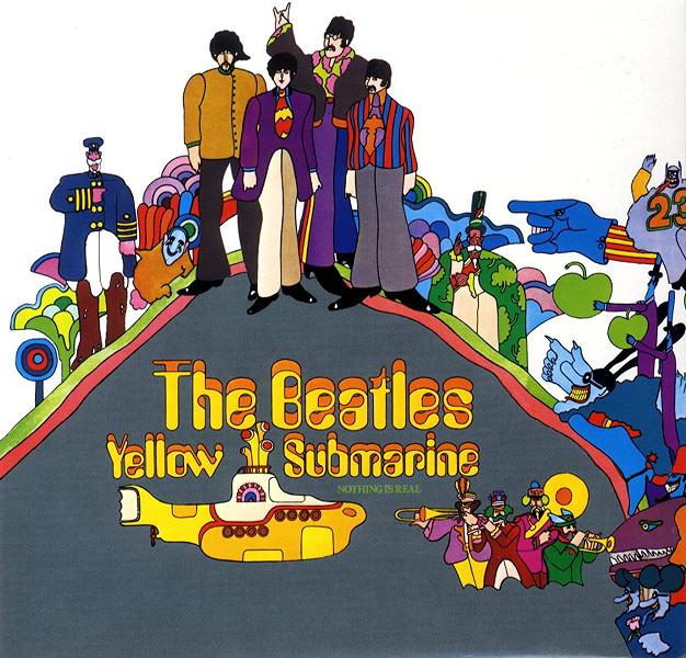 The Beatles - Yellow Submarine (Parlophone, 1969).