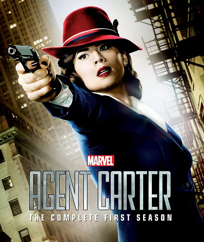 Agent Carter (2015-16) - hear Tim Worthington and Hanna Flint talking about it in It's Good, Except It Sucks.