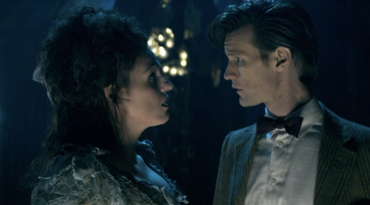 Suranne Jones and Matt Smith in Doctor Who - The Doctor's Wife (BBC1, 2011).