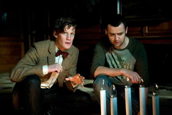 Matt Smith and Daniel Mays in Doctor Who - Night Terrors (BBC1, 2011).