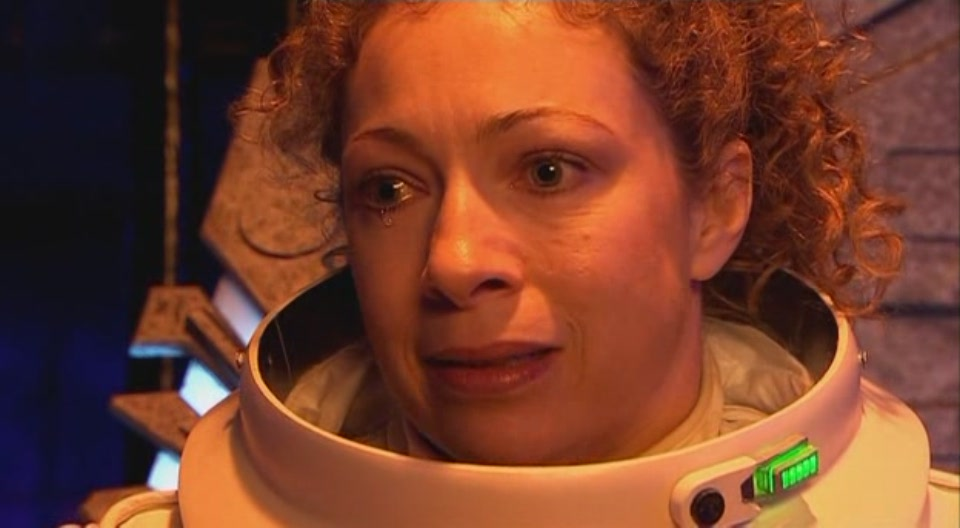 Alex Kingston in Doctor Who.