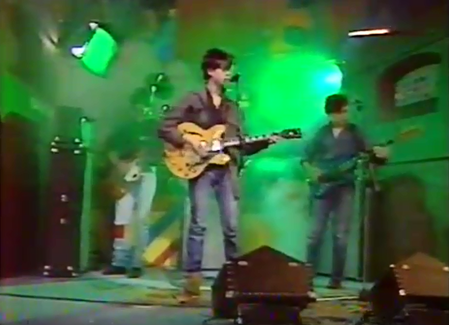 Echo And The Bunnymen on The Mersey Pirate (ITV/Granada, 1979).