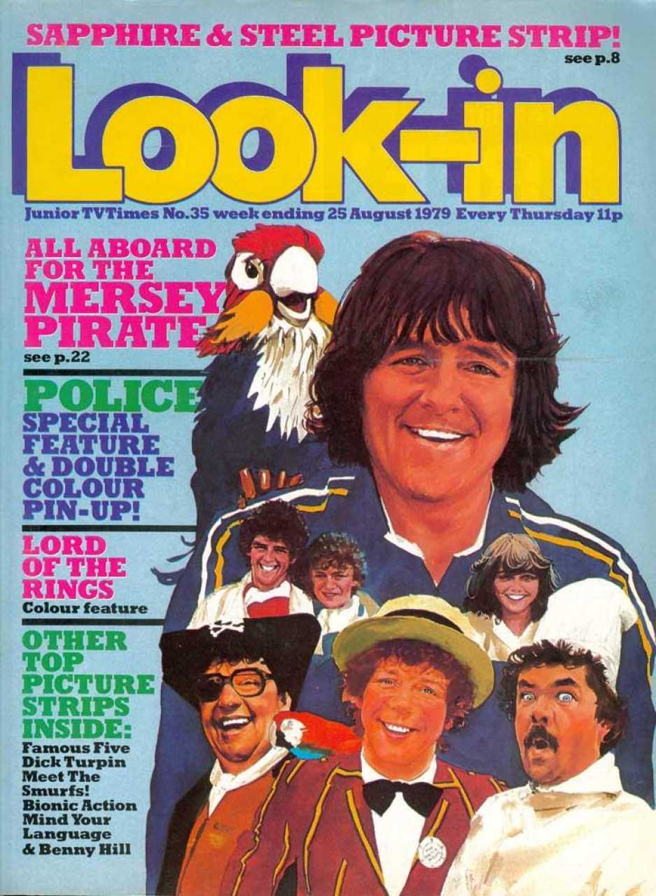 Look-In feature on The Mersey Pirate (ITV/Granada, 1979).