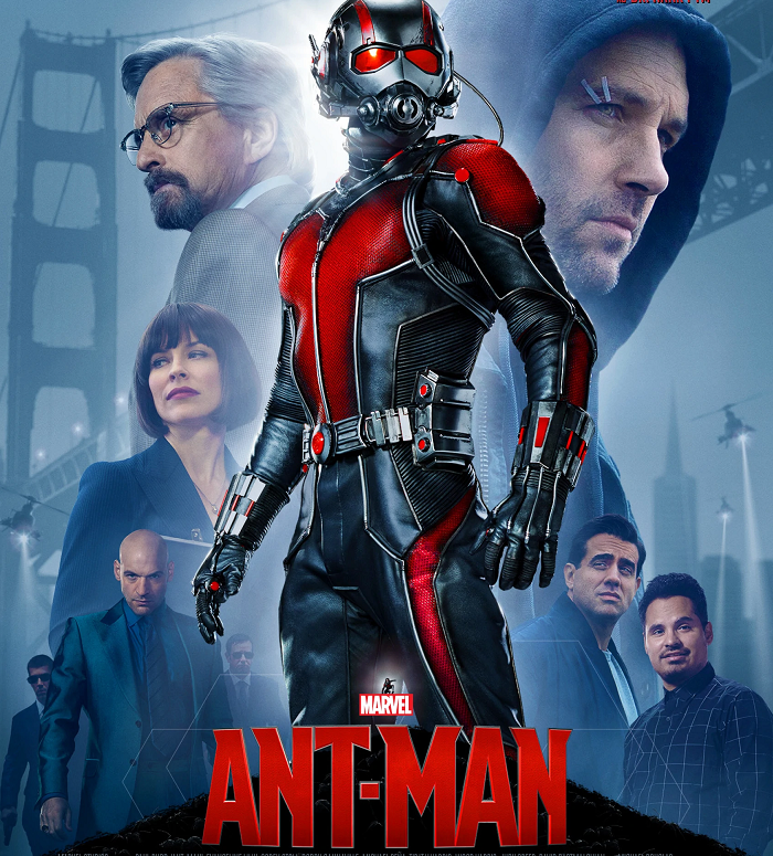 Ant-Man (2015) - hear Tim Worthington and Ben Baker talking about it in It's Good, Except It Sucks.