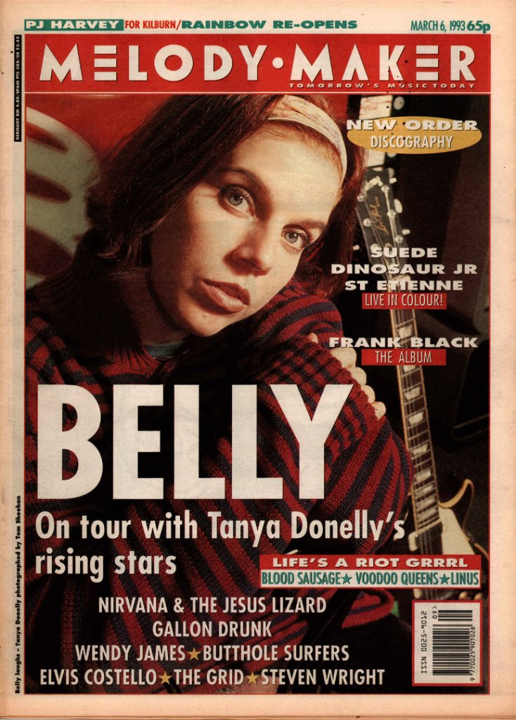 Tanya Donelly from Belly, as discussed by Tim Worthington and writer and author Gabby Hutchinson Crouch in Looks Unfamiliar.