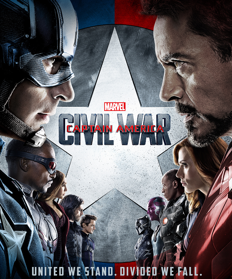 Captain America: Civil War (2016) - hear Tim Worthington and Mitch Benn talk about it in It's Good, Except It Sucks.