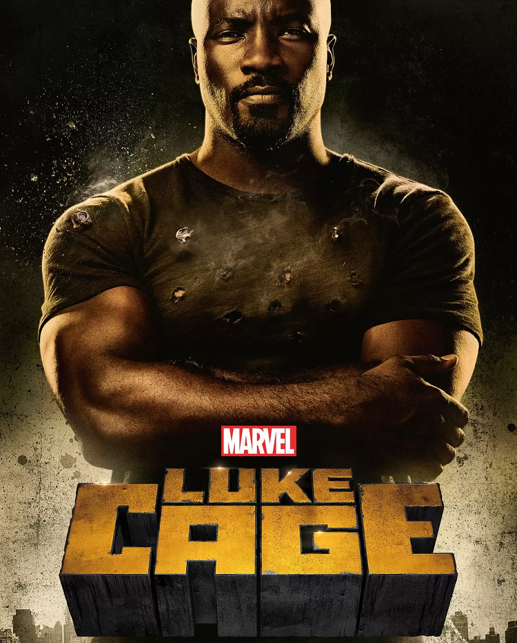 Luke Cage (Netflix, 2016-18) - hear Tim Worthington and Jim Sangster talk about it in It's Good, Except It Sucks.