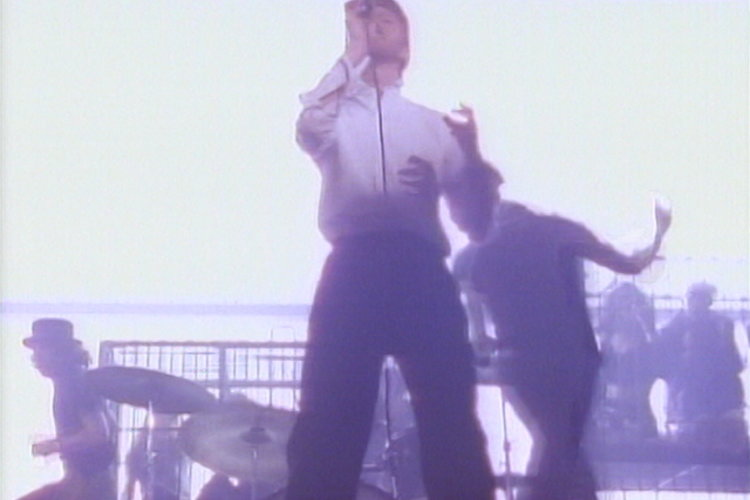 Tin Machine in the Under The God video (1989)