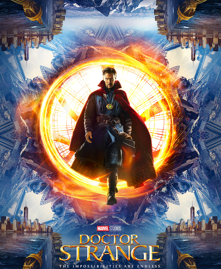 Doctor Strange (2016) - listen to Tim Worthington and John Rain talking about it in It's Good, Except It Sucks.