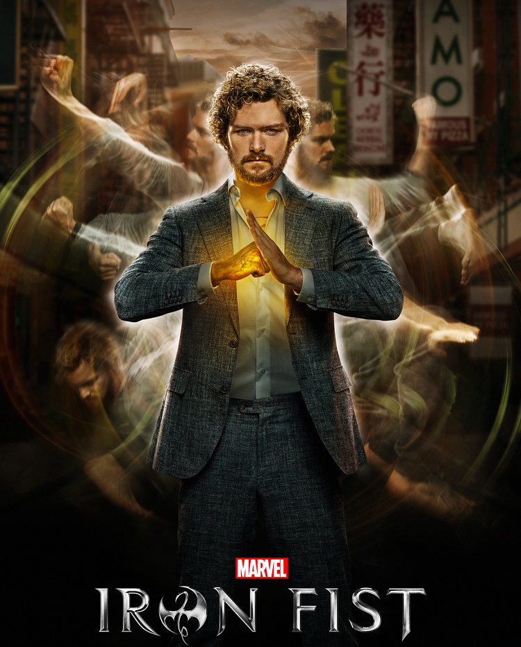 Iron Fist (2017-18) - listen to Tim Worthington and Paul Abbott chatting about Danny Rand scandalising high society by walking around barefoot in It's Good, Except It Sucks - a movie by movie – and television series by television series – hurtle through the Marvel Cinematic Universe.