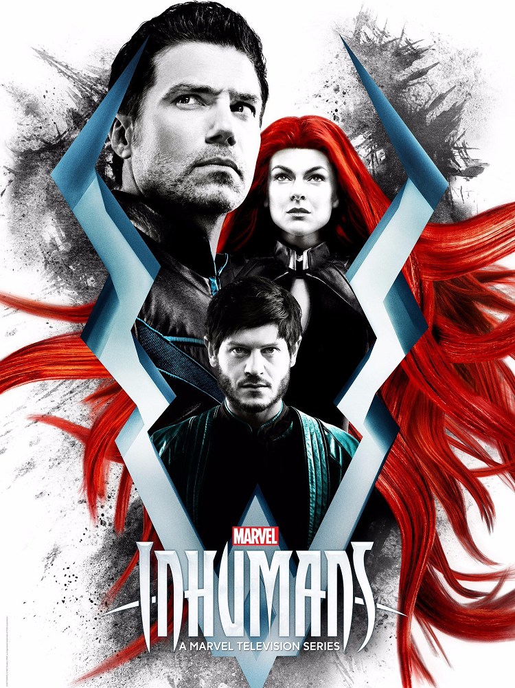 Inhumans (ABC, 2017) - listen to Tim Worthington and Phil Catterall chatting about that stupid dog and that drippy girl doing absolutely nothing whatsoever in It's Good, Except It Sucks.