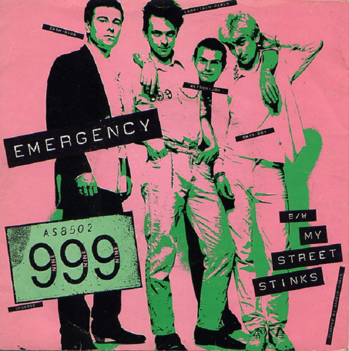 Emergency by 999 (United Artists, 1978) - listen to Mic Wright and Tim Worthington talking about it in Looks Unfamiliar.