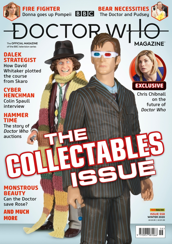 Doctor Who Magazine Issue 558.