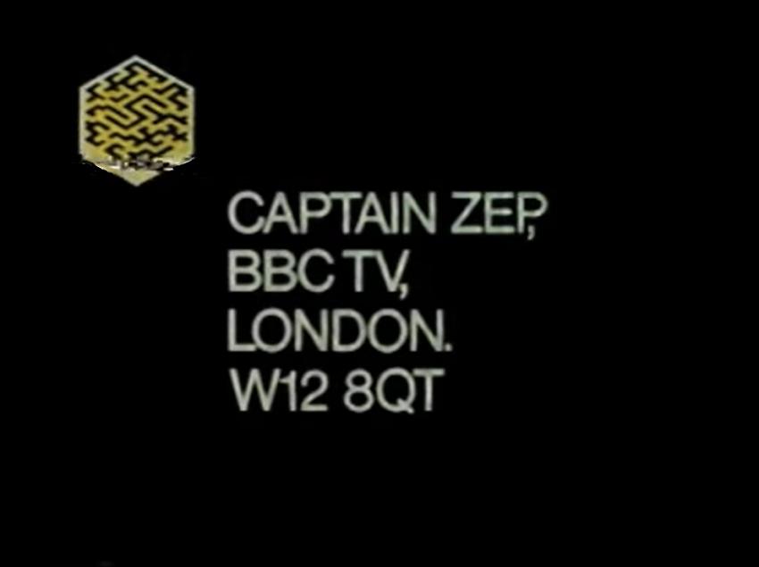 Captain Zep - Space Detective (BBC1,  1983-84).