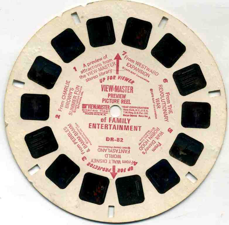 A View-Master Demonstration Reel - listen to Joel Morris and Tim Worthington talking about it in Looks Unfamiliar.