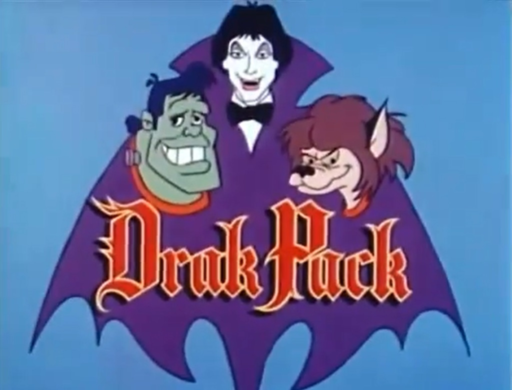 The Drak Pack (Hanna Barbera, 1980). Listen to Mark Thompson and Tim Worthington chatting about it in Looks Unfamiliar!