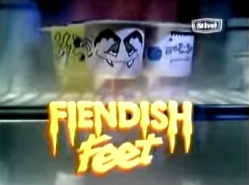 St. Ivel Fiendish Feet yoghurts - listen to Ben Baker and Tim Worthington talking about them in Looks Unfamiliar.