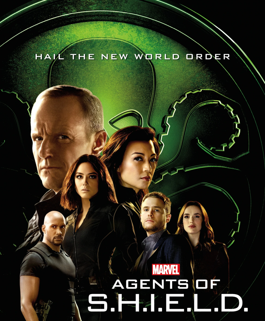 Agents Of S.H.I.E.L.D. (ABC, 2013-2020) - listen to David Smith and Tim Worthington talking about Phil Coulson and the gang picking up the literal pieces between the movies in Series Four to Series Six in It's Good, Except It Sucks - a movie by movie – and television series by television series – hurtle through the Marvel Cinematic Universe, hosted by Tim Worthington with a series of superpowered guests.