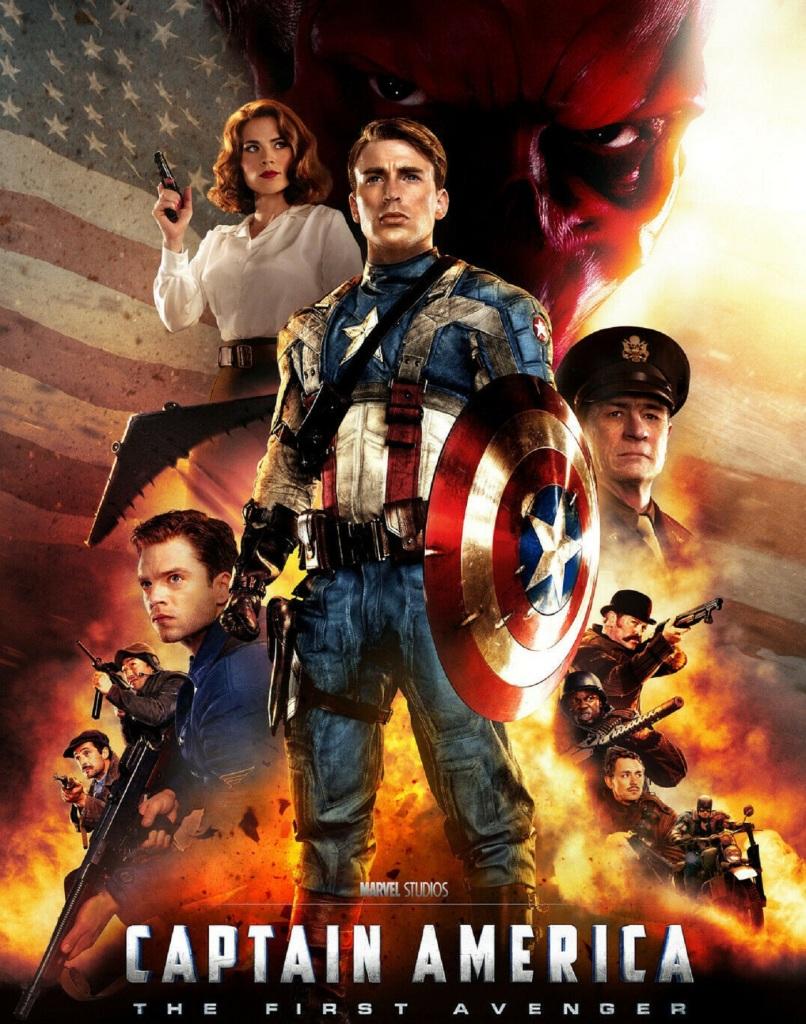 Captain America: The First Avenger (2011) - Melanie Williams joins Tim Worthington for a chat about Steve Rogers winning the Second World War by himself on his own of his own accord in It's Good, Except It Sucks - a movie by movie – and television series by television series – hurtle through the Marvel Cinematic Universe.