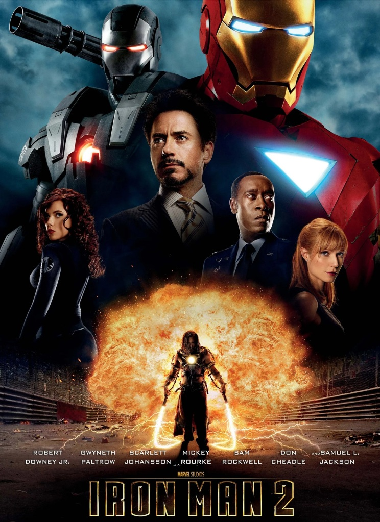 Iron Man 2 (2010) - Mark Thompson joins Tim Worthington for a chat about Tony Stark's battle of wits with dull men in suits trying to copy his technology very badly in It's Good, Except It Sucks - a movie by movie – and television series by television series – hurtle through the Marvel Cinematic Universe,