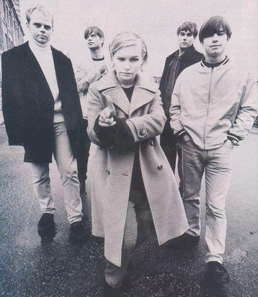 The Cardigans in 1995.