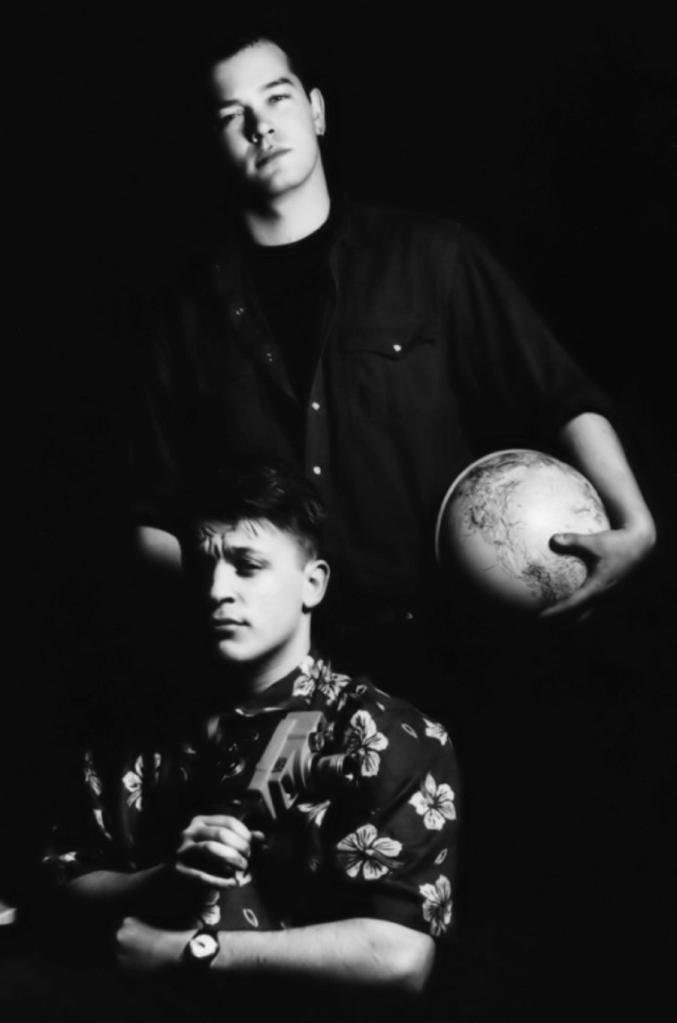 Stewart Lee and Richard Herring in Lionel Nimrod's Inexplicable World (BBC Radio 4, 1992-93).