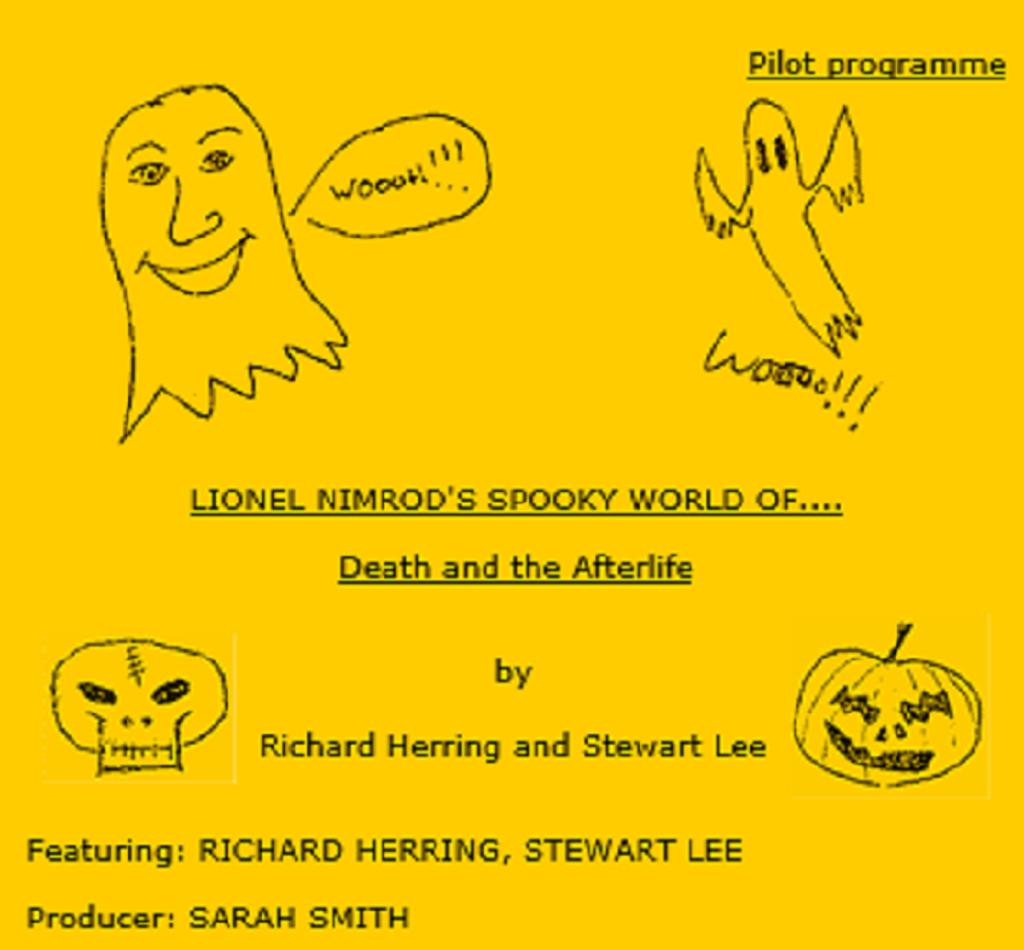 Pilot script front page for Lionel Nimrod's Inexplicable World BBC Radio 4, 1992-93).
