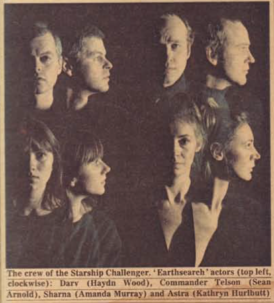 Radio Times feature on Earthsearch (BBC Radio 4, 1981-83).