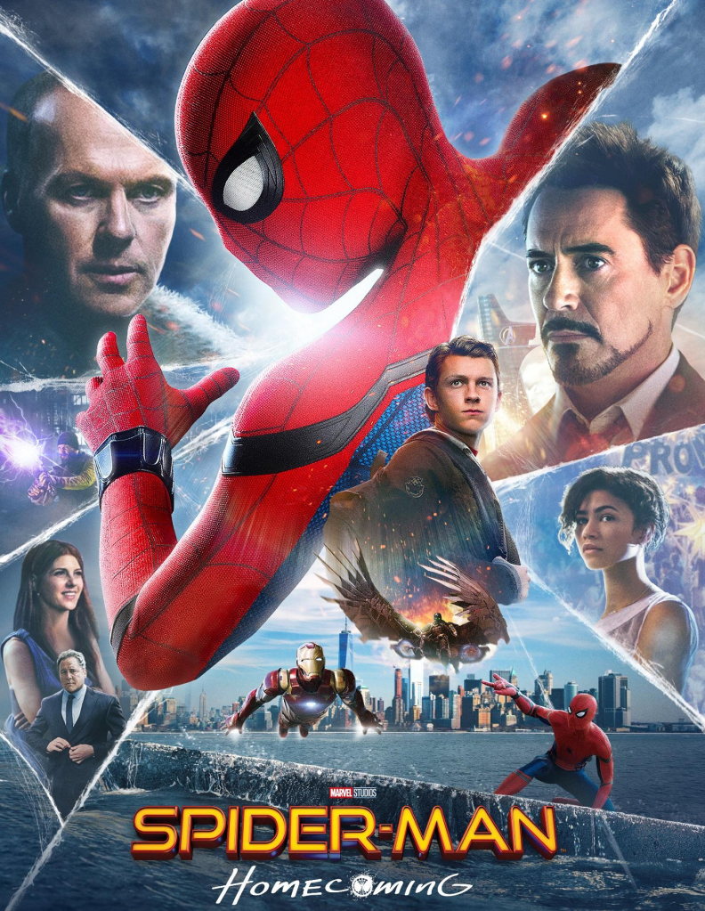 Spider-Man: Homecoming (2017) - listen to Anna Cale and Tim Worthington chatting about Peter Parker taking dating tips from a voice inside a costume it in It's Good, Except It Sucks - a movie by movie – and television series by television series – hurtle through the Marvel Cinematic Universe.