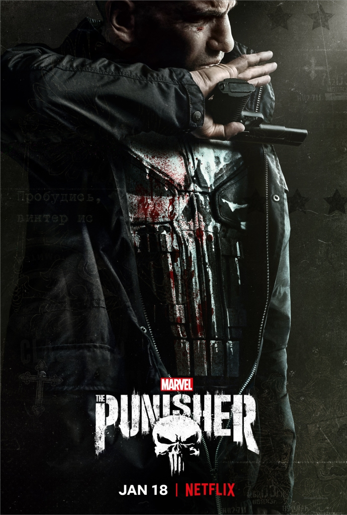 The Punisher (2017) - Mic Wright joins Tim Worthington for a chat about Frank Castle taking out the corrupt in authority and knocking over a few bins along the way in It's Good, Except It Sucks - a movie by movie – and television series by television series – hurtle through the Marvel Cinematic Universe.